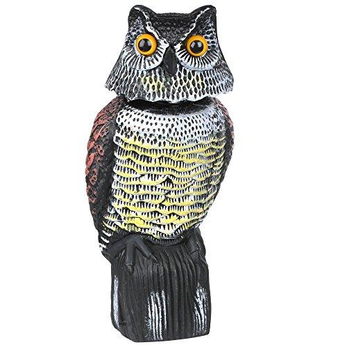 Desconocido Escultura de búho para espantar Palomas (se Mue