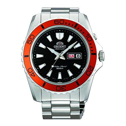Orient Herren Analog Automatik Uhr mit Edelstahl Armband FEM75004B9