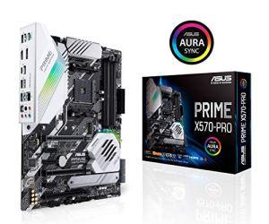 Asus Prime X570-Pro Ryzen 3 AM4 with PCIe Gen4, Dual M.2 HDMI, SATA 6GB/s USB 3.2 Gen 2 ATX Motherboard