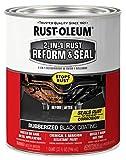 Rust-Oleum 344763 2-in-1 Rust Reform & Seal, Black, 32 Fl Oz