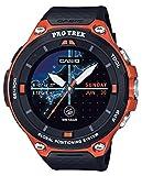 [カシオ] 腕時計 スマートアウトドアウォッチ プロトレックスマート GPS搭載 WSD-F20-RG ブラック