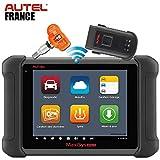 Autel Francia Autel MaxiSys MS906 TS – 2 años de actualizaciones + paquete de software – Versión oficial – Maleta de diagnóstico inalámbrico Bluetooth Auto Pro Multi Marcas + TPMS