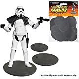 Action Figure Stands 25-Pack - Gray