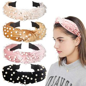 Velvet Wide Headbands