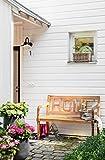 Dehner Gartenbank Home, 2-Sitzer, ca. 120 x 64 x 89 cm, FSC Akazienholz, natur - 5