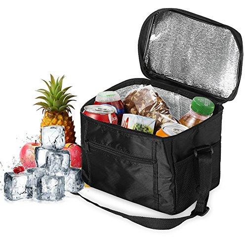 Orlegol Sac Isotherme Lunch Bag, 10L Sac de Pique-Niques Sac-Glacière...