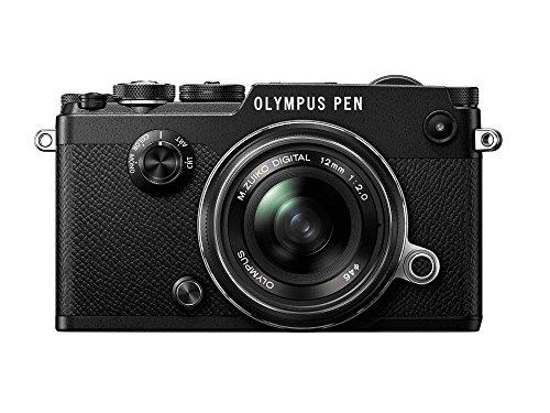 OLYMPUS ミラーレス一眼 PEN-F 12mm F2.0LK BLK