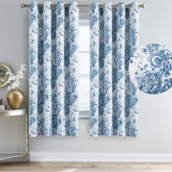 Blue Paisley Curtains