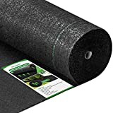Amagabeli 5.8oz 3ft x 100ft Weed Barrier Landscape Fabric Heavy Duty Ground Cover Weed Cloth Geotextile Fabric Durable Driveway Cover Garden Lawn Fabric Outdoor Weed Mat