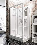 Schulte cabine de douche complète Malta, cabine de douche intégrale en kit avec...
