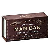 San Francisco Soap Company Exfoliating Man Bar, Cardamom & Juniper, 10 Ounce