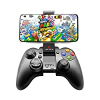 🎮WARRANTY - CONTACT EMAIL - info@live-tech.in , Technical Call - 9892186820【High Compatibility】Yo!Man is compatible with Android And USB Dongle is Stick on Back Side of Blister Packing / Gamepad/ PS3/ Nintendo Switch/ PC and others. Besides, it is ea...