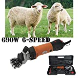 Vinteky 690W Tondeuse Mouton Animal électrique Professionnelle/Cheveux Tondeuse...