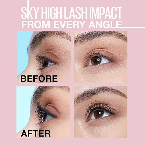 Product Image 7: Maybelline Sky High Washable Mascara Makeup, Volumizing Mascara, Buildable, Lengthening Mascara, Defining, Curling, Multiplying, Washable Blackest Black, 0.2 fl. Oz