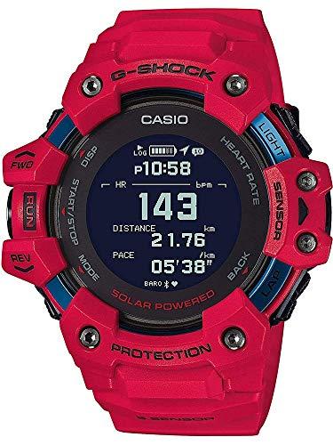GBD-H1000-4ER, Solar, Bluetooth, Herzfrequenzmessung, Step Tracker, Stoppfunktion