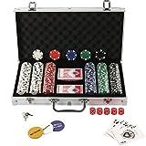 Display4top Set de Poker 300 jetons Laser Haute qualité 12 g Noyau en...