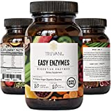 Truvani Digestive Enzymes   9 Enzyme Blend   Digestive Support   Reduce Bloating   Increased Nutrient Absorption   Non-GMO Capsules  30 Day Supply
