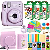 Fujifilm Instax Mini 11 Camera with Fuji Instant Film (60 Sheets) + DEALS NUMBER ONE Accessories...