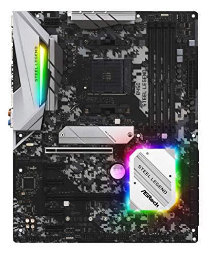 ASRock AMD Ryzen AM4 対応 B450 チップセット搭載 ATX マザーボード B450 Steel Legend