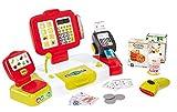 Smoby - Grande Caisse Enregistreuse Rouge - 27 Accessoires - Balance Mécanique...