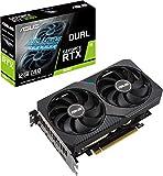 ASUS DUAL-RTX3060-O12G - Tarjeta grfica de Gaming NVIDIA GeForce RTX 3060 OC Edition 12GB GDDR6 (PCIe 4.0, HDMI 2.1, DisplayPort 1.4a, diseo de 2 Ranuras, Ventiladores Axial-Tech, tecnologa 0dB)