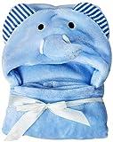 con Capucha Bebé Toalla, Baño Envuelva Manta Suave Coral Forro Polar Animal Poncho para Recién...
