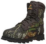 Rocky Unisex-Kid's FQ0003627 Mid Calf Boot, Mossy Oak Break up Camouflage, 6 W US Big Kid