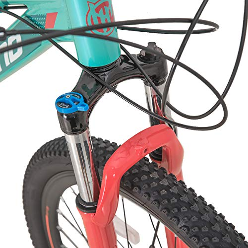 Product Image 4: Hiland 27.5 Inch Mountain Bike 24Speed MTB Bicycle for Women 16.5 Inch with Suspension Fork Urban Commuter City Bicycle Mint Green