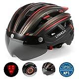 Lixada Casque de vélo Mountain Bike Helmet Casque de Moto avec...