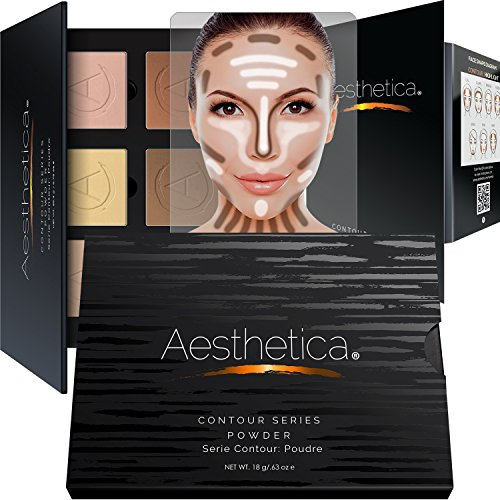 Aesthetica Cosmetics Contour and Highlighting Powder Foundation...