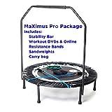 MaXimus PRO Folding Rebounder USA | Voted #1 Indoor Exercise Mini...
