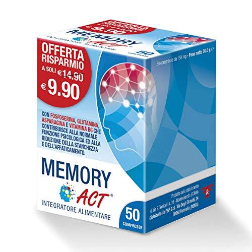 ACT Memory - Compresse Blu, 50 Unità