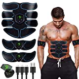 Abs Stimulator Ultimate Muscle Toner, EMS Abdominal Toning Belt for Men and Women, Arm and Leg Trainer, Office Home Gym Fitness Equipment