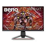 BenQ MOBIUZ EX2710 - Monitor Gaming de 27' FullHD (1920x1080, 1ms, 144Hz, IPS, AMD Freesync Premium, compatible con PS5/Xbox x) - Gris Oscuro