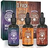Viking Revolution Toda la variedad natural del aceite acondicionador para la barba y bigote, en un...