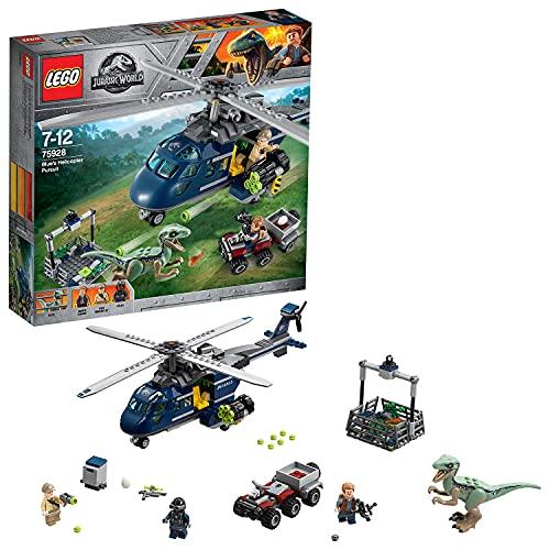 LEGO 75928 Jurassic World Inseguimento sullelicottero di Blue