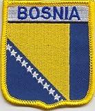 Bosnie-Herzégovine et brodé Flag Patch