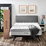 """Modway Jenna 14"""" Full Innerspring Mattress - Top Quality Quilted Pillow Top - Individually Encased..."""