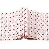 150 Pieces Wax Paper Sheets Greaseproof Paper Wrapping Tissues Food Wrapping Picnic Papers Basket Liners Waterproof Sheets for Carnivals, Party and School Baking, Frying, 8.3 x 9.8 Inches