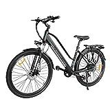 Macwheel Cruiser-550, 28' Electric Bike, 350W Ebike, 36V 10AH Removable Lithium Battery, 7 Speed...