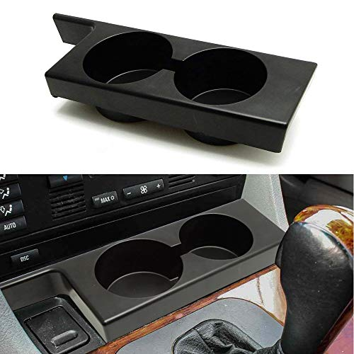 JoyTutus Cup Holder Compatible with BMW E39 525i 530i 540i 528i M5 1997-2003 Front Dual Cup Holder for Car