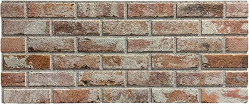 Steinoptik Wandverkleidung für Wohnzimmer, Küche, Terrasse oder Schlafzimmer in Klinkeroptik Look. (ST 353-102)