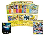ULTIMATE ELECTRIC COLLECTION - Unleashed the power of the Electricity. This collection contains the most powerful electric pokemon cards ever. Comes with 5 rare electric Pokémon cards and 1 electric ultra-rare pokemon card. POWERFUL ELECTRIC POKEMON ...