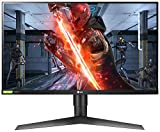 LG 27GL650F-B 27 Inch Full HD Ultragear G-Sync Compatible Gaming Monitor with 144Hz Refresh Rate and HDR 10 - Black