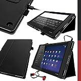 igadgitz U2880 Cuir PU Étui Compatible avec Sony Xperia Tablet Z2 SGP511...