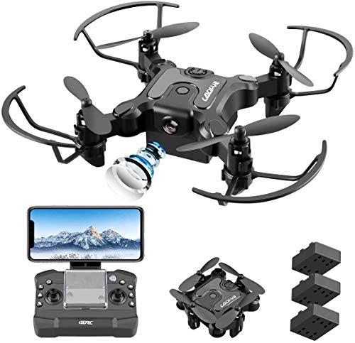 4DRC V2 Drone con Telecamera 720P HD WiFi FPV, Traiettoria di Volo, 3D Filp, modalit Senza Testa, modalit Hovering, Adatto ai Principianti e Bambini