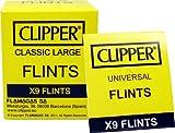 Box Clipper Universal Cigarette Lighter Flints 24x9