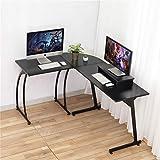 Computer Desk, DOSLEEPS L-Shaped Large Corner PC Laptop Study Table Workstation Gaming Desk for Home...