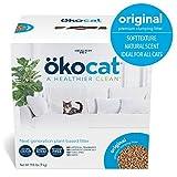 ökocat Natural Wood Cat Litter, 19.8-Pound, Clumping