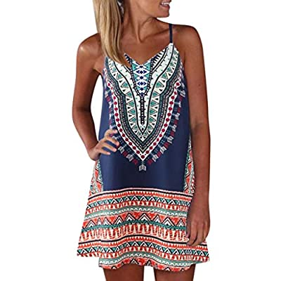 ❤ 【 Material 】Polyester, Super soft and elastic. ❤ 【 Features 】Stretch, Casual style, Short sleeve, Two side pockets, Round neck, Above the knee length, Elastic at waist, Not lined, beach dress, It is perfect for summer, Spring and fall. ❤ 【Matching ...